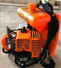 Backpack Petrol Brush Cutter 33cc Displacement Bg328 For Cutting Brush / Grass