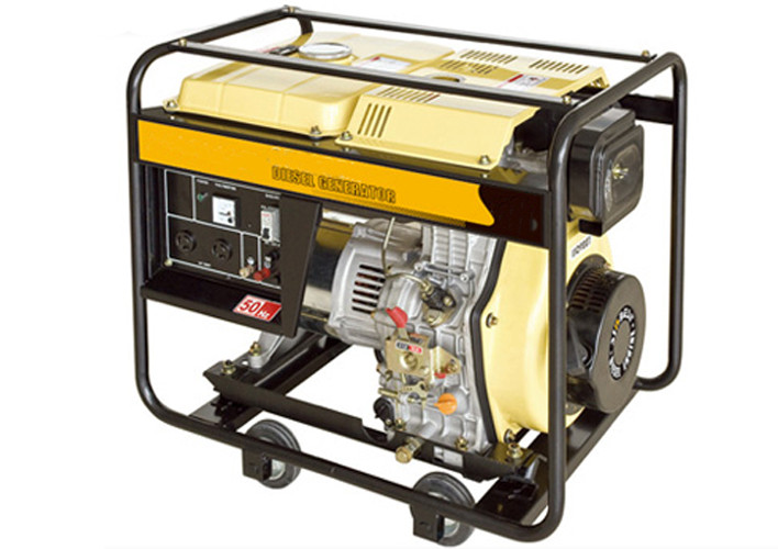 2000 Watt Open type Air-cooled portable quiet diesel generator for home use