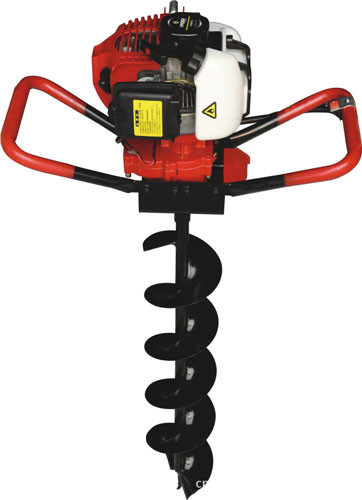 Two man Post Hole Digger Auger for garden using , construction