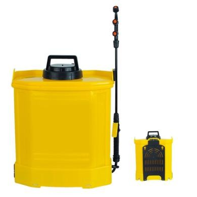 16L Operated Knapsack Electric electric backpack sprayers PP tank , plastic Material