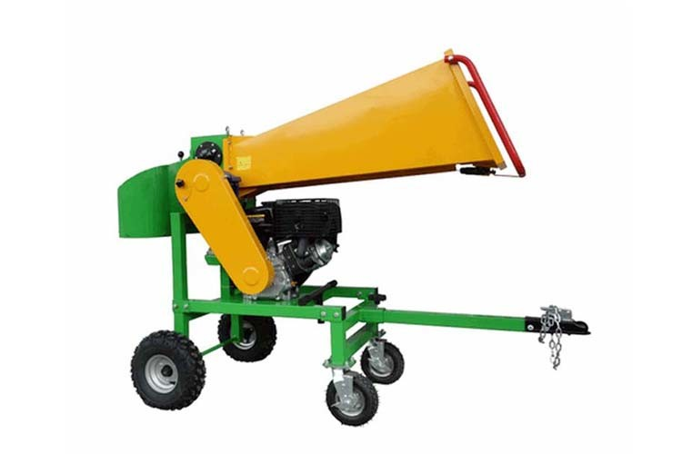 Gasoline Gardening Machines Wood Logger Branch Processor Horizontal 13hp