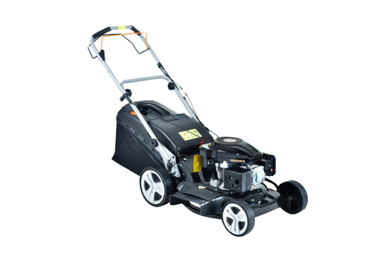 Portable Gasoline Metal Lawn Mower , Body Self Propelled Lawn Mower 6.5hp