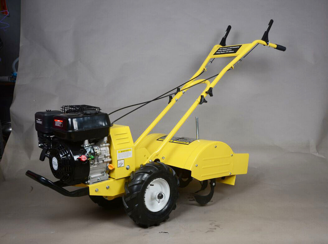 196cc 6.5HP Garden Gasoline Tiller Cultivator With Chinese Diesel Engine
